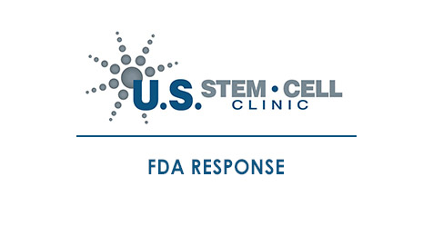 fda response - U S  Stem Cell Clinic